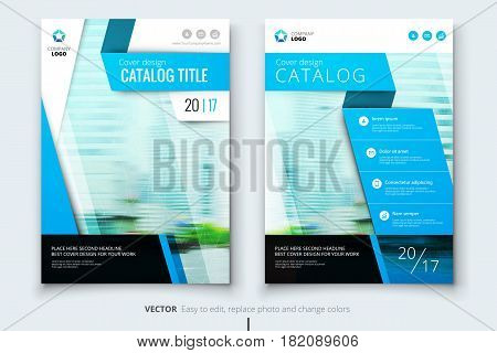 Corporate business annual report cover, brochure or flyer design. Leaflet presentation. Catalog with Abstract geometric background. Modern publication poster magazine, layout, template. A4 size