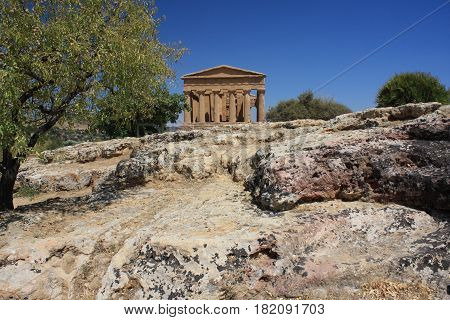 The Valley of the Temples, Agrigento, Sicily