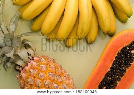 Fruit Place For Inscription