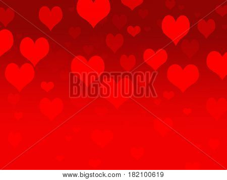 Backgroun hearts RED love valentines day romance