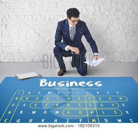 Business Corporate Word Search Puzzle