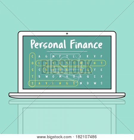 Business Strategy Personal Finance Illustration