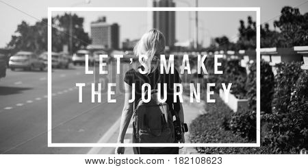 Adventure Travel Trip Exploration Word