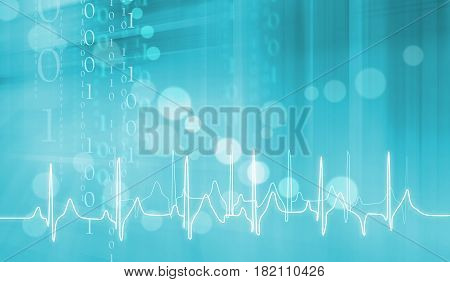 Digital Abstract Medical Background Abstract Background Suitable for Healthcare and Medical Topic