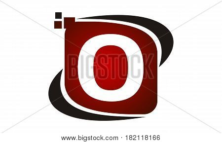 This vector describe about Logo Technology Motion Synergy Initial O