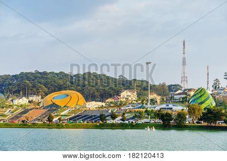 The Lam Vien Square And The Xuan Huong Lake, Dalat