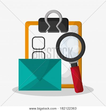 web search related icons image vector illustration design