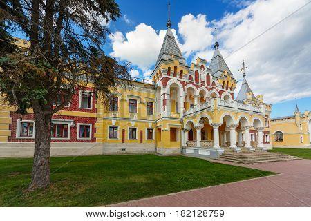mansion of baron Von Dervis in village Kiritzi, Russia, 1889-1907