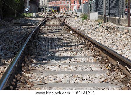 Como Nord Lago Train Station In Como
