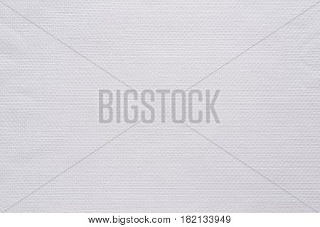 texture and background of fabric or cotton material of white color