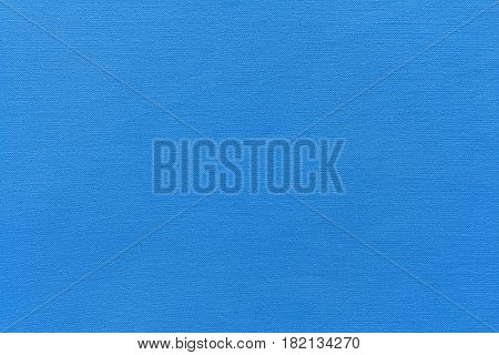 texture and background of rough fabric or cotton material of azure color