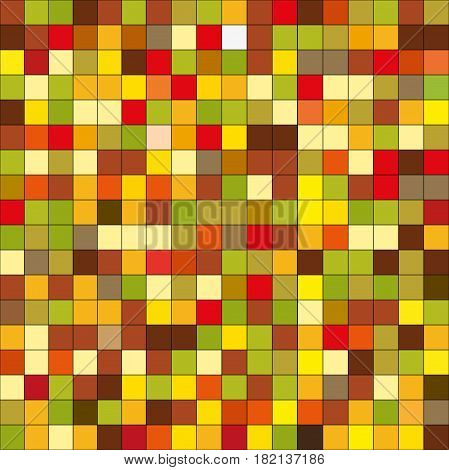 small multicolored background tile pixel in a chaotic manner