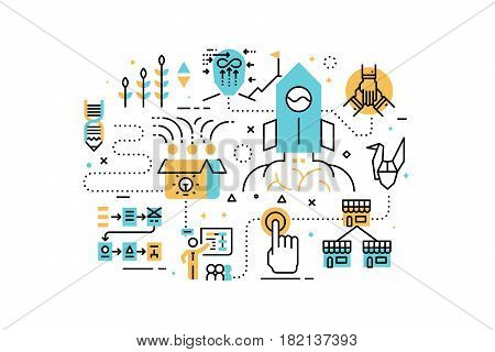 Startup Business Illustration