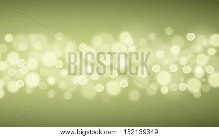 Defocused Green lights backgrounds. Template from vector bokeh backgrouns.