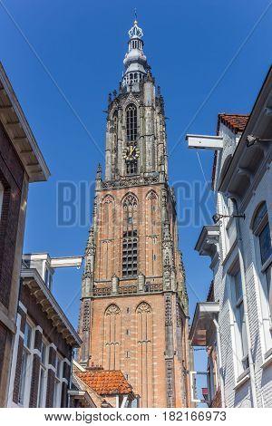 Medieval Church Tower Onze Lieve Vrouwetoren