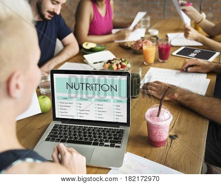 Health awareness meeting Concept