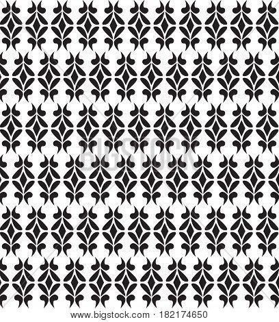 Art deco vector geometric pattern in dark black. texture for web print wallpaper