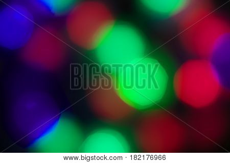 blurry color background with multicolored circles spots DEFOCUSED