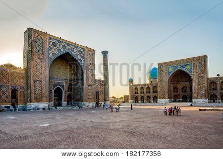 Samarkand Registan, Uzbekistan