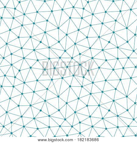 Abstract Triangle Minimal Geometric Grid Pattern Background
