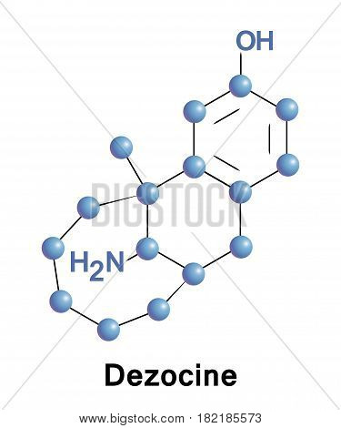 Dezocine is a marketed opioid analgesic of the benzomorphan group