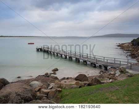 Middleton Beach and jetty in Albany Western Australia