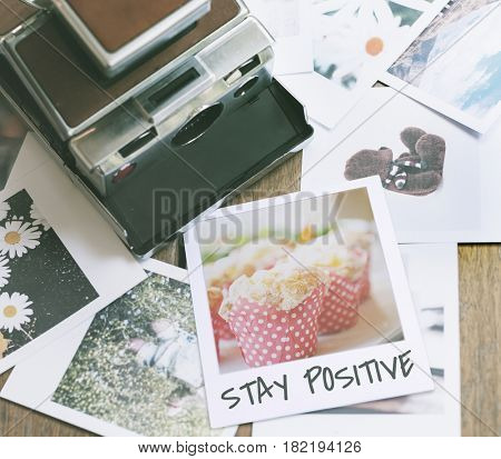 Stay Positive Lifestyle Instant Film