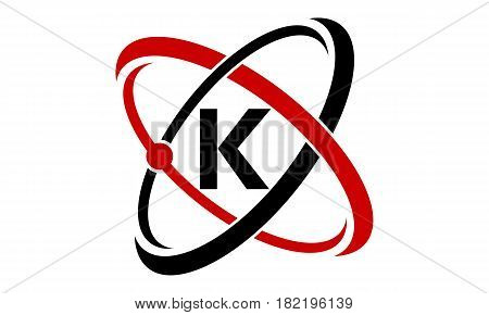 This vectro describe about Atom Technology Logo Initial K