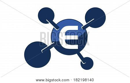 Synergy Logo connection Together Science Initial E