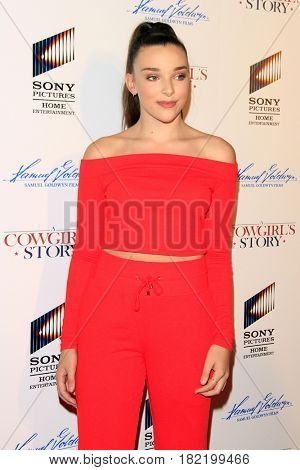 LOS ANGELES - APR 13:  Kendall Vertes at the