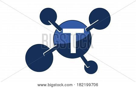 Synergy Logo Solution Group Connection Initial T