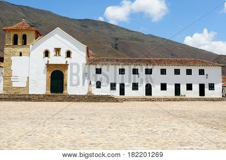 Colombia Villa de Leyva is a touristic colonial town and municipality in the Ricaurte Province part of the Boyac