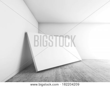 Banner Stands In Corner, Contemporary Architecture