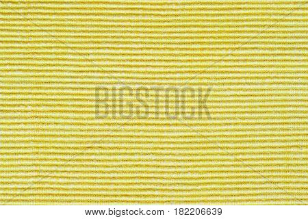 Closeup from a yellow background