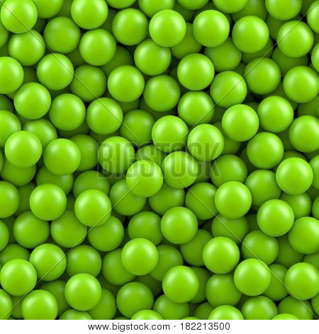 Green balls background. Vector illustration Eps 10