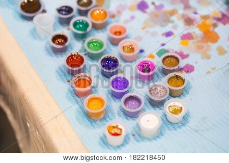 vibrant of tattoo colors ink water colorful pigment.