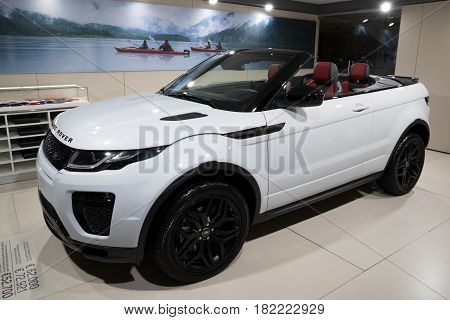 Range Rover Evoque Convertible Car