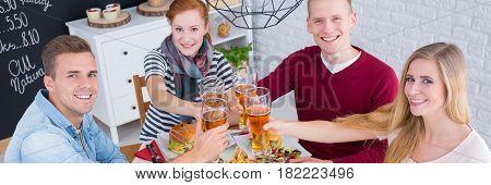 Friends On Dinner