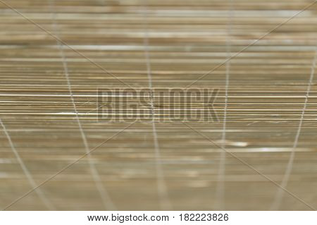 Asian style bamboo wood curtain or sunshade