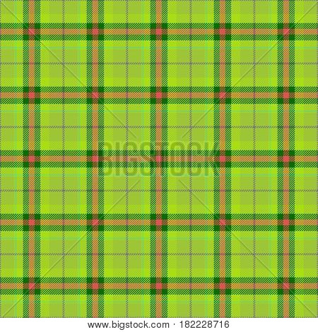 Green fabric with texture suitable for a handkerchief