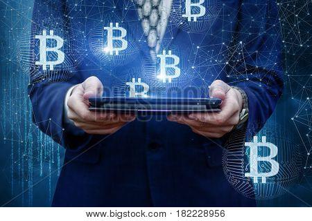 Tablet Show Bitcoin .