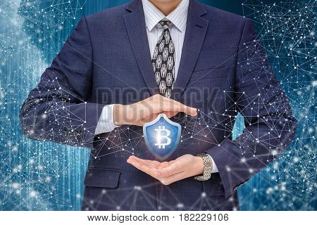 Protection Of Bitcoins In The Network.