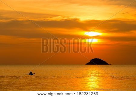 Tropical Sunset On Koh Chang