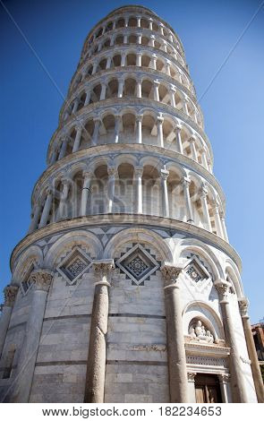 travel amazing Italy series - Leaning Tower, Piazza dei Miracoli, Pisa, Tuscany, Italy