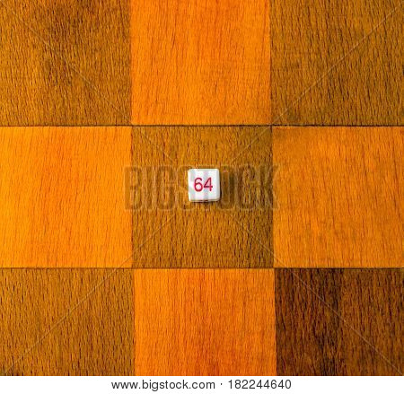 A dice on the chessboard board games are very popular all over the world they are well developed intellect and logical thinking is also important is your luck for example when throwing such a dice