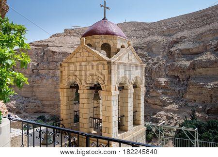 Inside The St George Orthodox Monastery, Located In Wadi Qelt, Israel