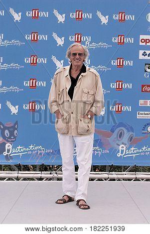 Giffoni Valle Piana Sa Italy - July 17 2016 : Mariano Rigillo at Giffoni Film Festival 2016 - on July 17 2016 in Giffoni Valle Piana Italy
