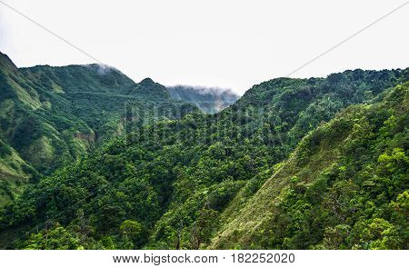 Dominica Caribbean Island Boiling Lake Hike and Valley of Desolation