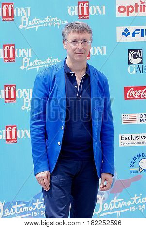Giffoni Valle Piana Sa Italy - July 18 2016 : Raffaele Cantone at Giffoni Film Festival 2016 - on July 18 2016 in Giffoni Valle Piana Italy