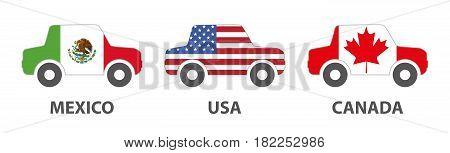 mexico usa canada car trading in north america